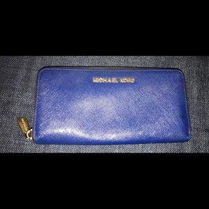 Michael Kors Royal Blue Wallet